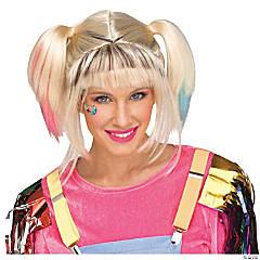 Women's Adult Rascal Roller Derby Wig