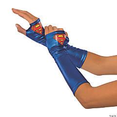 Women's Adult Supergirl Gauntlets