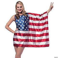 Women's American Flag Dress - Standard