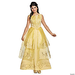 Women's Beauty and the Beast™ Belle Ball Gown Costume - Large