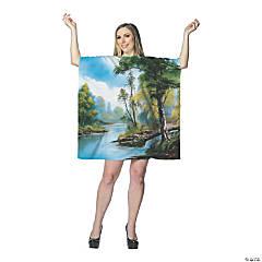 Women's Bob Ross Painting Dress - Standard