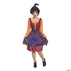 Women's Classic Disney Hocus Pocus Mary Sanderson Costume –Plus