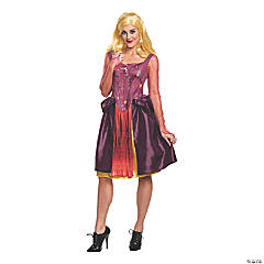 Women's Classic Disney's Hocus Pocus Sarah Sanderson Costume – Plus