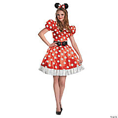 Women's Classic Red Minnie Mouse™ Costume - Large