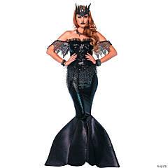 Women's Dark Water Siren Mermaid Costume
