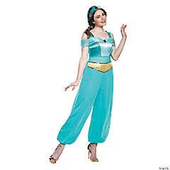 Women's Deluxe Aladdin™ Jasmine Costume - Extra Small