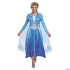 Women's Deluxe Disney's Frozen II Elsa Costume - Large