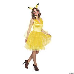 Women's Deluxe Pikachu Costume –Medium