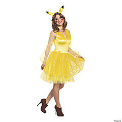 Women's Deluxe Pikachu Costume –Small