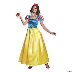 Women's Deluxe Snow White Costume – Large