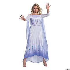 Women's Disney's Frozen II Elsa S.E.A. Deluxe Costume - XXL