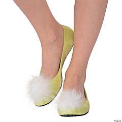 Women's Green Fairy Ballet Shoes - Large