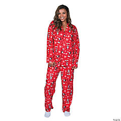 Women's Mickey Mouse Pajamas - Large