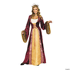 Women's Milady of The Castle Costume - Small