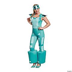 Women's Minecraft Armor Costume - Large