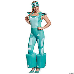 Women's Minecraft Armor Costume - Medium