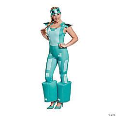 Women's Minecraft Armor Costume - Small