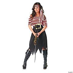 Women's Pirate Maiden Costume - Standard
