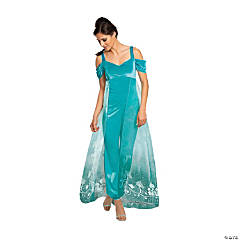 Women's Plus Size Deluxe Aladdin™ Live Action Jasmine Costume