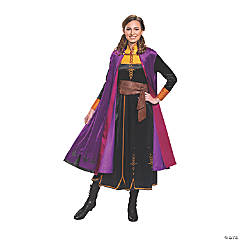 Women's Plus Size Deluxe Disney's Frozen II Anna Costume
