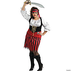 Women's Plus Size Pirate Costume - XXL