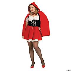 Women's Plus Size Red Riding Hood Costume - XXL