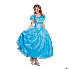 Women's Prestige Cinderella Movie Costume - Medium