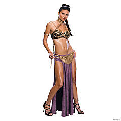 Women's Princess Leia Slave Costume