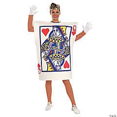 Women's Queen of Hearts Card Costume