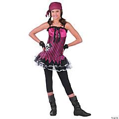 Women's Rockin' Skull Pirate Costume