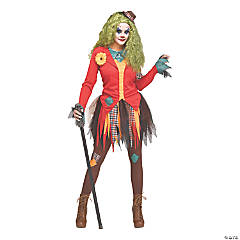 Women's Rowdy Clown Costume –Large