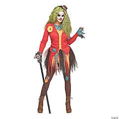 Women's Rowdy Clown Costume – Small/Medium