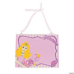 Wood Her Mini Majesty Just Call Me Princess Door Sign
