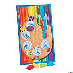 Wood Little Artist Bean Bag Toss Game