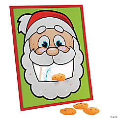 Wood Santa's Cookies Bean Bag Toss