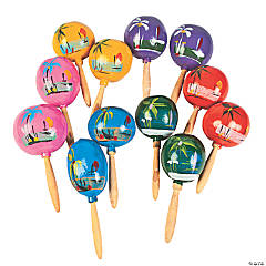 Wooden Authentic Maracas