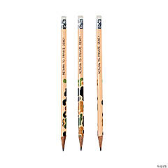 Wooden Camouflage Pencils