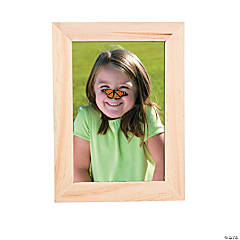"Wooden DIY Picture Frame - 4"" x 6"""