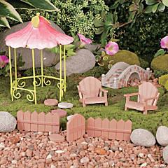 Wooden Fairy & Gnome Garden