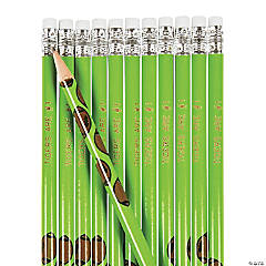Wooden Football Pencils - 24 Pc.