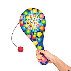Wooden Jumbo Everyday Paddleball Game