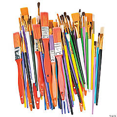 Wooden Paintbrush Variety Pack
