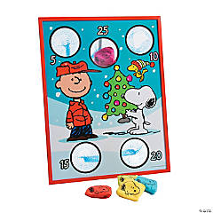Wooden Peanuts® Christmas Bean Bag Toss Game