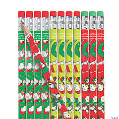 Wooden Peanuts® Christmas Pencils