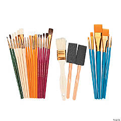 Wooden Plaid® Paintbrush Super Value Pack