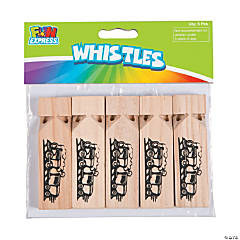 Wooden Small Train Whistles