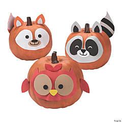 Woodland Animal Pumpkin Decorating Craft Kit