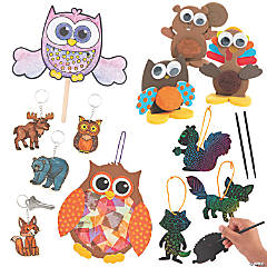 Woodland Animals Craft Kit Assortment