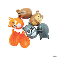 Woodland Creatures Shaped Easter Eggs