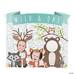 Woodland Party 1st Birthday Stand-Up
